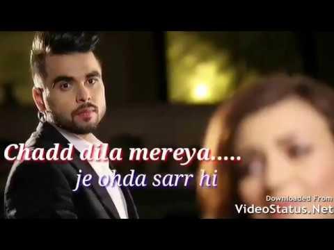 Whatsapp status   aadat song by ninja   aadat ninja lyrics   punjabi song video status