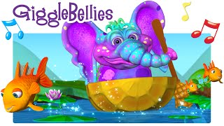 Row Row Row Your Boat | Full Version HD | The GiggleBellies