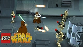 LEGO Star Wars: The Video Game - Negotiations | Part 1, PS2 (LEGO Star Wars Gameplay Walkthrough)