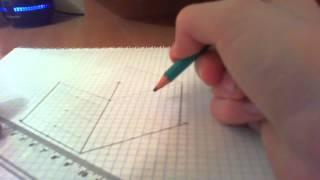 Как начертить круг на фигуре в изометрической проекции