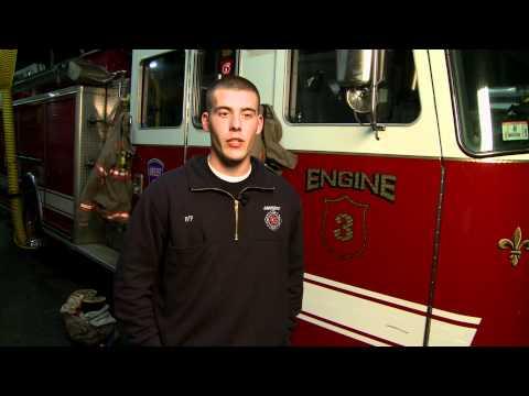 dating a volunteer firefighter