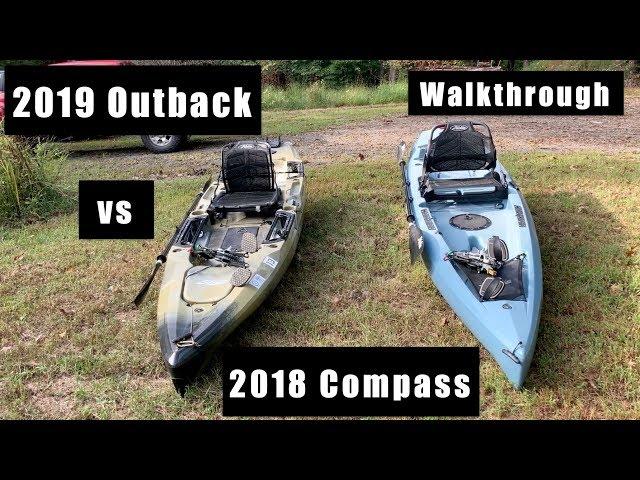 2019 Hobie Outback vs Compass (2018) Walkthrough