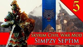 BATTLE FOR WINDHELM Mount Blade Warband Skyrim Civil War Mod Simpzy Septim 5
