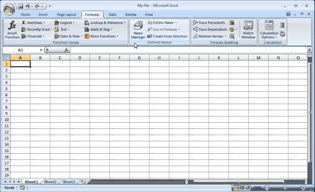 Microsoft Excel 2010 & 2007 Training Tutorial - The Ribbon ...