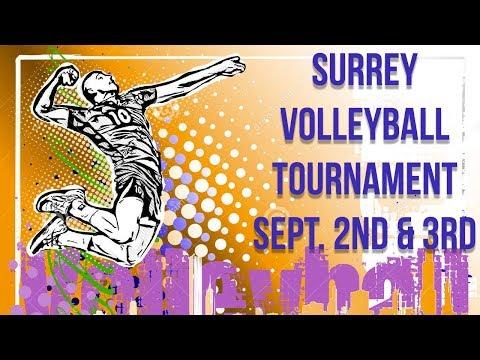 Surrey Volleyball Tournament 2017