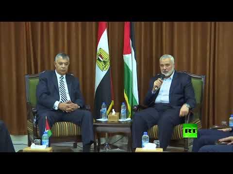 رئيس المخابرات المصرية خالد فوزي يصل إلى غزة