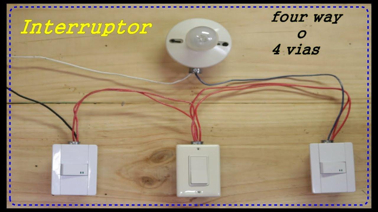 Interruptor Four way