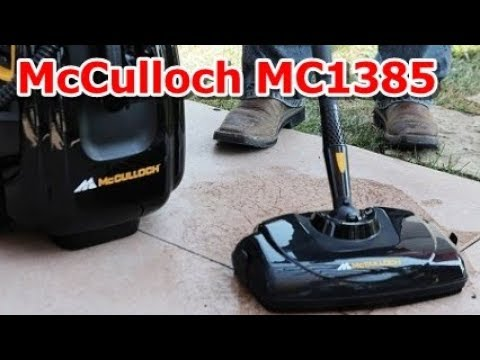 McCulloch MC1385 Deluxe Canister Steam System - YouTube