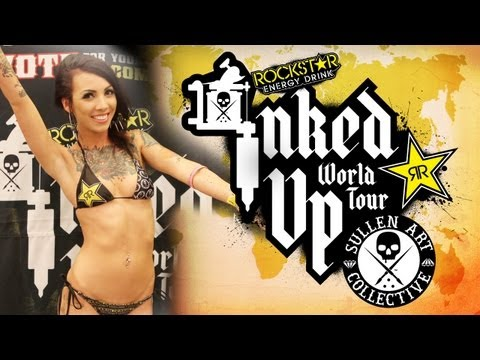 TATTOO CONVENTION COVERAGE - Rockstar Energy Miss Inked Up Toronto