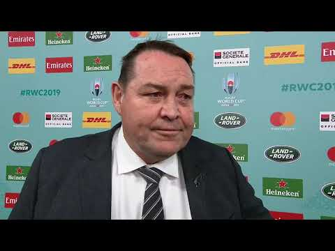 An emotional interview from Steve Hansen in his final game in charge