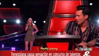 Venezolana causa sensación en concurso de talentos