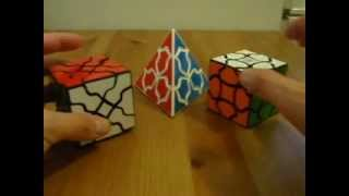 wavy puzzle fluffy cube breeze cube flame pyraminx