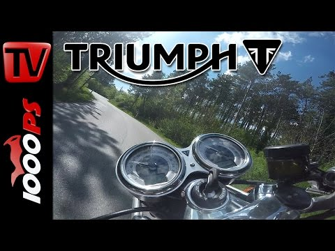 Triumph Thruxton R - K.OTs erste Ausfahrt - MotoVlog Part 1