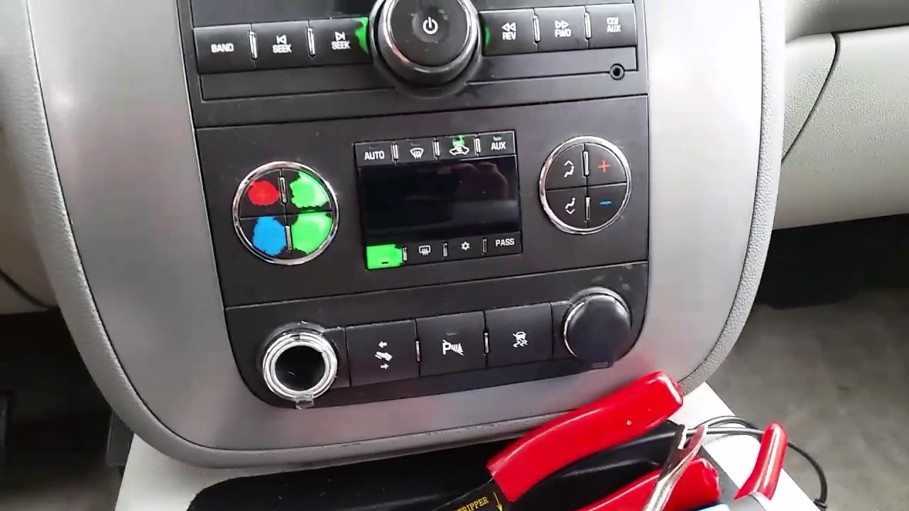 2008 Silverado Wiring Diagram Briggs And Stratton Oil Change Replacing Cigarette Lighter With Usb Charging Port On A Gmc Yukon. - Youtube