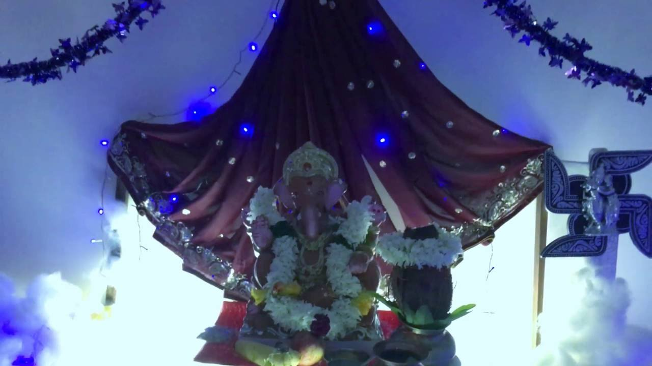 In This Video We Show You How To Make Ganpati Decoration Ideas 2019 With The Theme Or Concept Of Himalaya Mountain Which Can Dyi At Home Eco