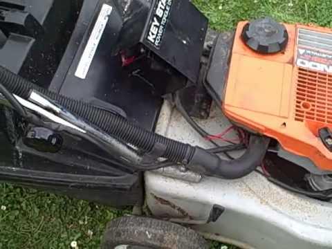 Key Start 2 Stroke Victa Lawnmower Youtube