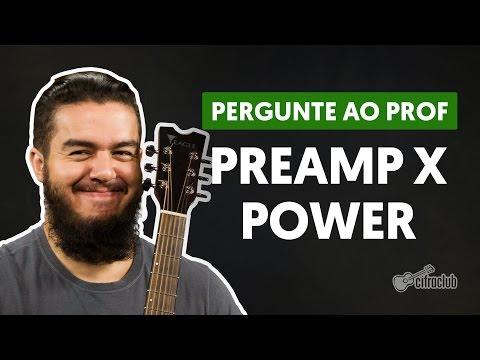 O que quer dizer Pre e Power nos amplificadores? | Pergunte ao Professor