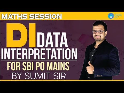 SBI PO MAINS | D.I. FOR SBI PO MAINS |MATHS | Sumit sir