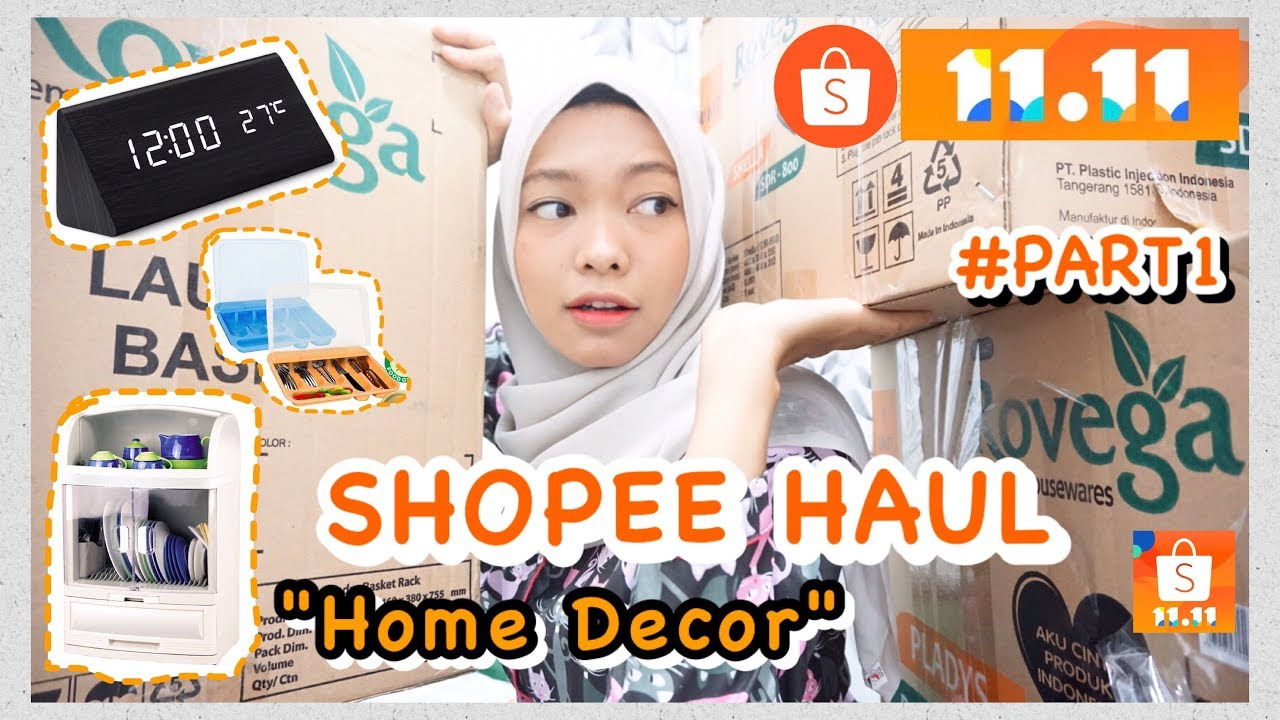 Shopee Haul Room Decor Part 6 Home Decor Haul Aesthetic Haul Youtube