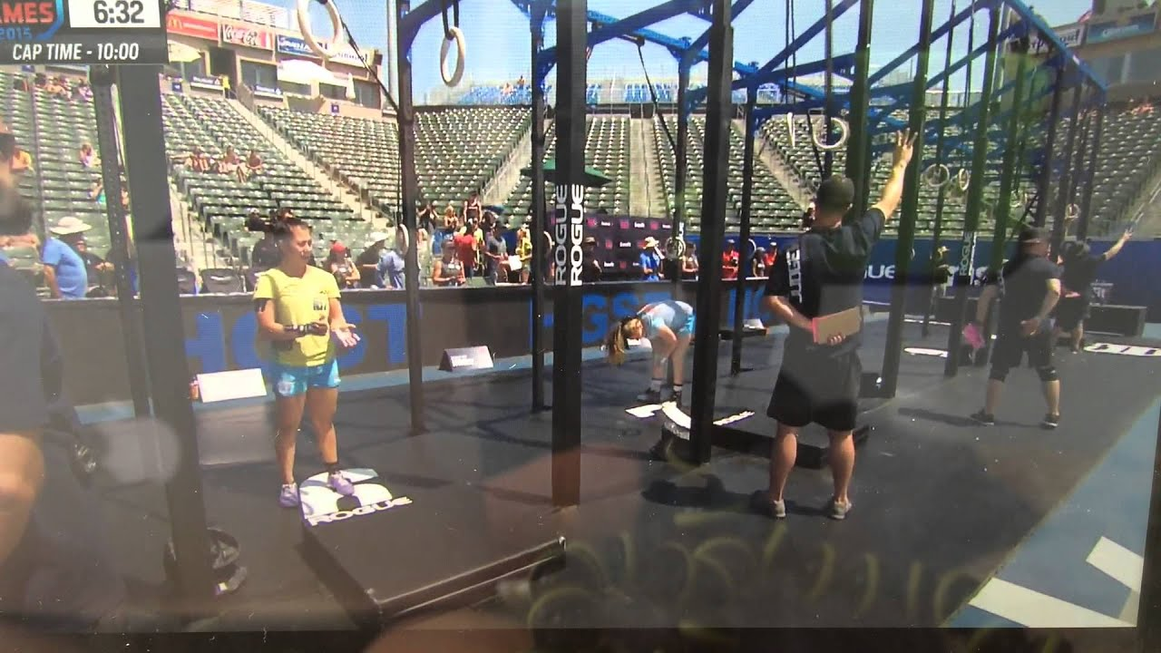 Crossfit Games Teen Women 16 17 Division Final Event