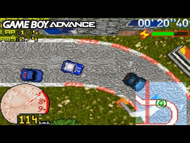 GT Racers (Gameboy Advance Gameplay)