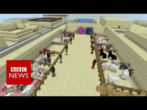 School uses Minecraft to teach history - BBC News