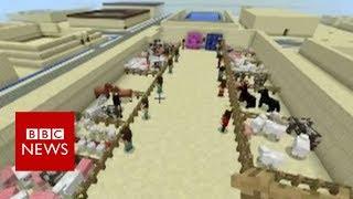 School uses Minecraft to teach history - BBC News thumbnail