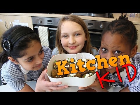 How to make Falafel with St. Catherine's School - LitFilmFest Kitchen Kid - BBC Good Food