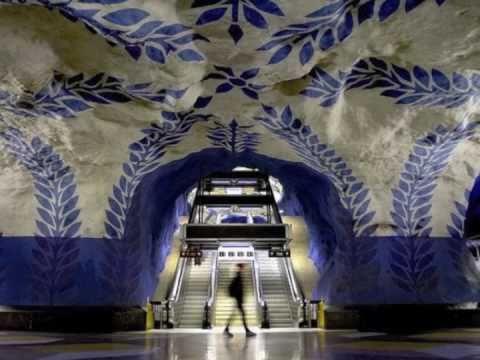 Swedish Subway / Stockholm Metro - The World's Longest Art Museum