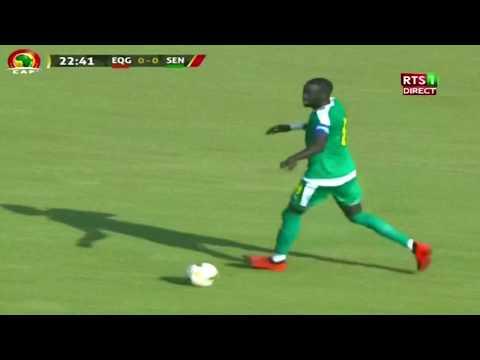 En direct Sénégal/guinée Equatoriale 1er mi-temps
