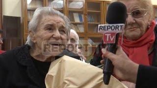 Report TV - Liri Belishova në 90-vjetorin e saj: Jetova me dhimbje e fatkeqësi