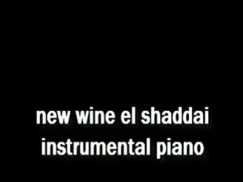 new wine el shaddai instrumental piano