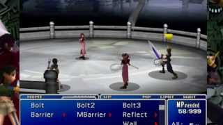 Final Fantasy VII: New Threat Mod- Mimic Boss Fight (Aerith's Sidequest)