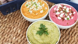 Hummus | 3 Delicious Ways