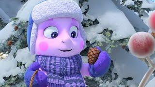 Лунтик Зимние забавы Смотри мультики Прямая трансляция