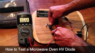 How to Test a Microwave Oven High-Voltage Rectifier