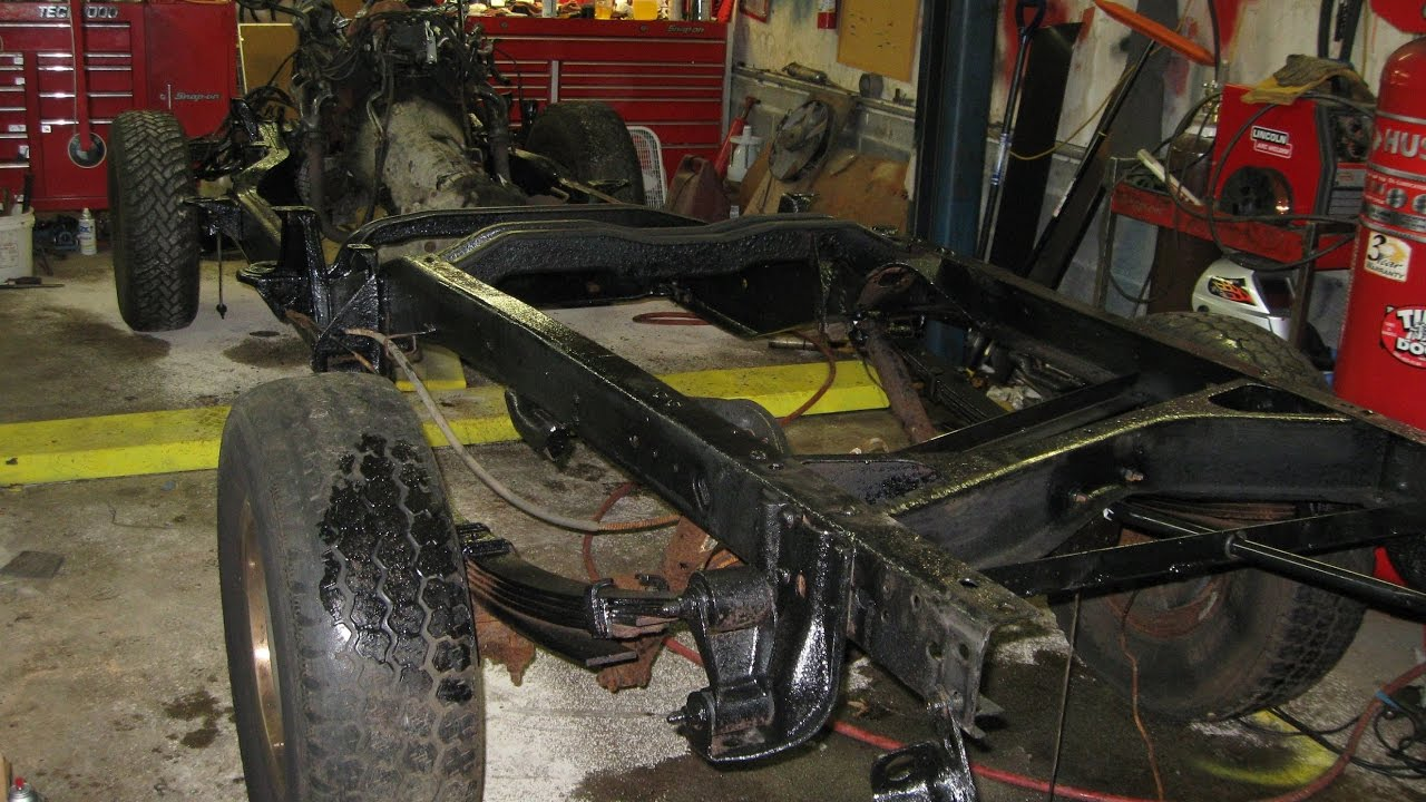 4X4 TRUCK FRAME REPLACEMENT CHEVY GMC OR ANY TRUCK - YouTube