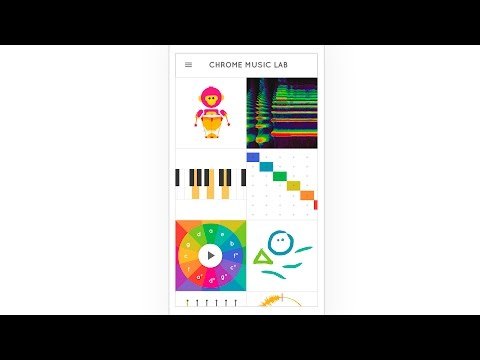 Introducing Chrome Music Lab