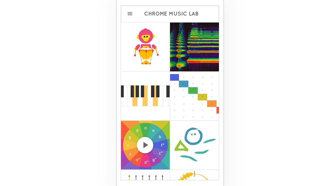 Introducing Chrome Music Lab YouTube