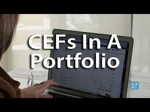 CEFs In A Portfolio