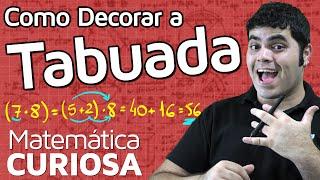 COMO DECORAR A TABUADA? Propriedade Distributiva! | Matemática Rio