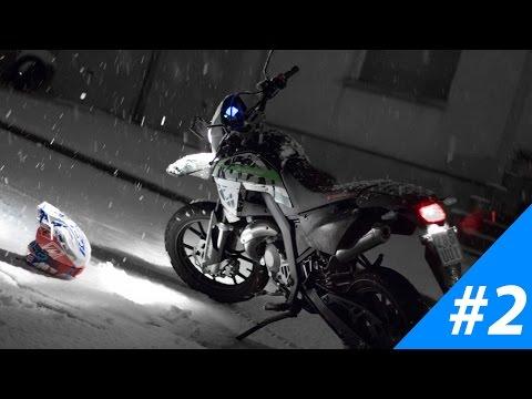 [BIKEPORN #2] Kreidler Supermoto 50 // Soundtest // versus Suzuki DRZ 400