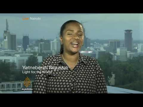 Interview with Yetnebersh Nigussie on Al Jazeera, 8 March 2018