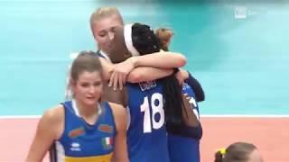 Mondiale F.: Italia in finale.  Il finale del tiebreak