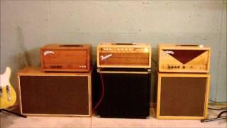 Amp comparison, TW Rocket, 6G6-B Bassman, TW Express