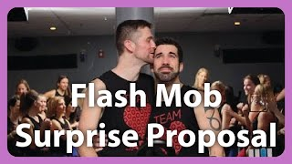 Video Cycling Studio Flash Mob Same-Sex Marriage Proposal download MP3, 3GP, MP4, WEBM, AVI, FLV Juli 2018