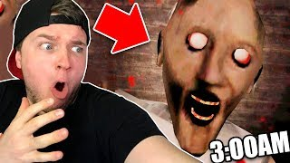 PAPA JAKE PLAYS GRANNY AT 3AM CHALLENGE!! 😱(Scary)