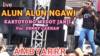 Kartoyono Medot Janji - live Alun Alun Ngawi 'Denny Caknan'