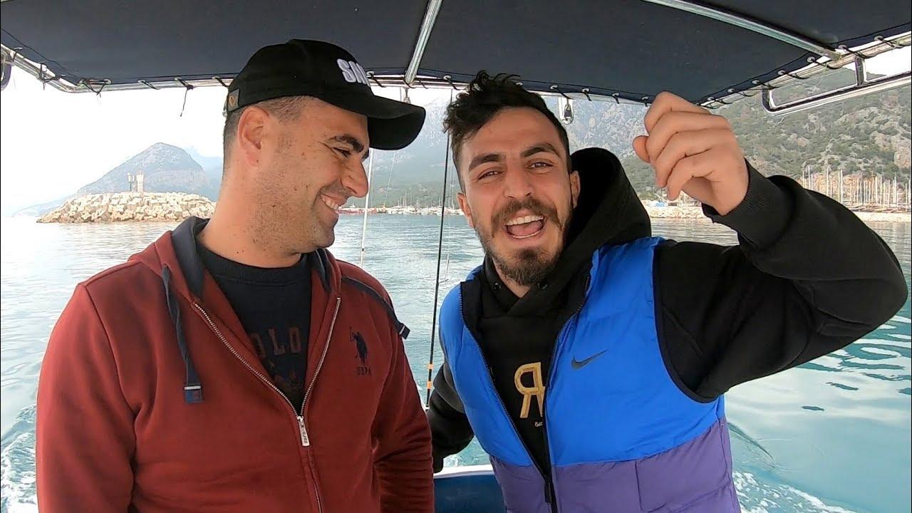 Deli Mi Ne İle Denizde Harika Balıklar Yakaladık !!
