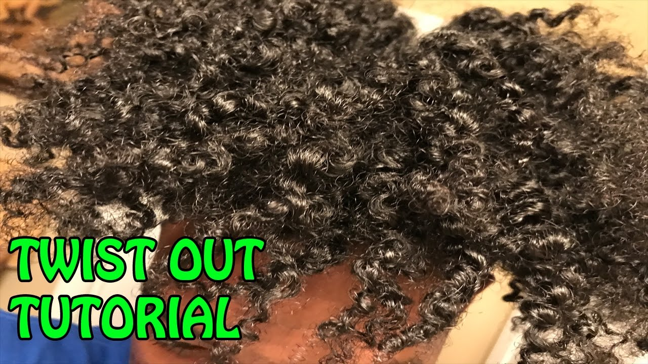 Male Stretched Twist Out Tutorial Revisiting Cantu Curl